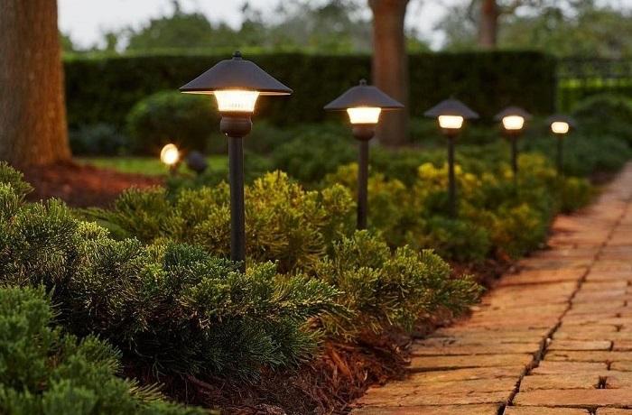 светильники с крышкой