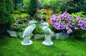 садовые скульптуры для дачи и сада